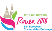 58th European Commodities Exchange | 25th & 26th October 2018 | ROUEN