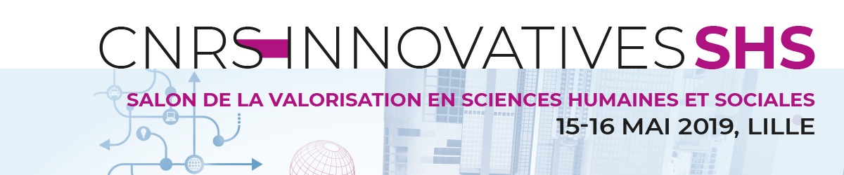 Les Innovatives SHS 2019 | 15 & 16 mai | LILLE