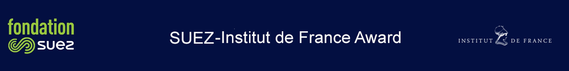 SUEZ-Institut de France Award | 6th edition | 2017-2018